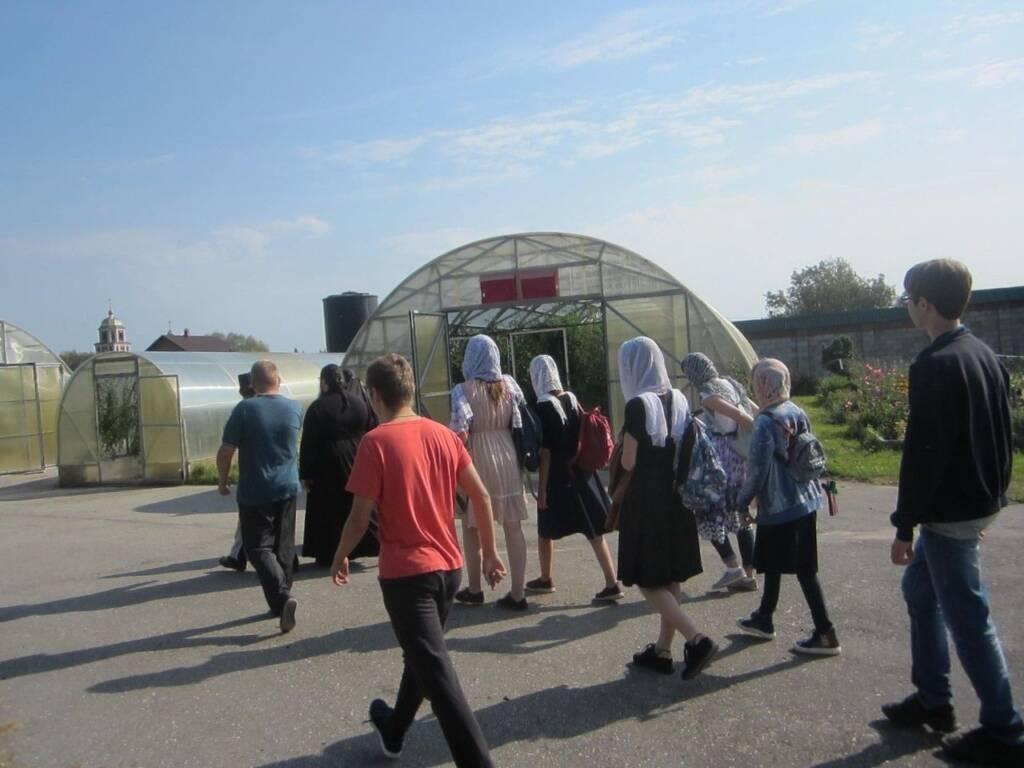 Паломничество в Никольский монастырь  с.Шостье