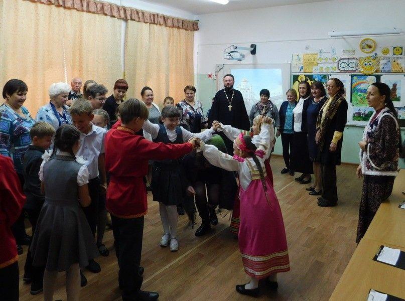 В Клепиковской школе состоялся открытый урок о православии