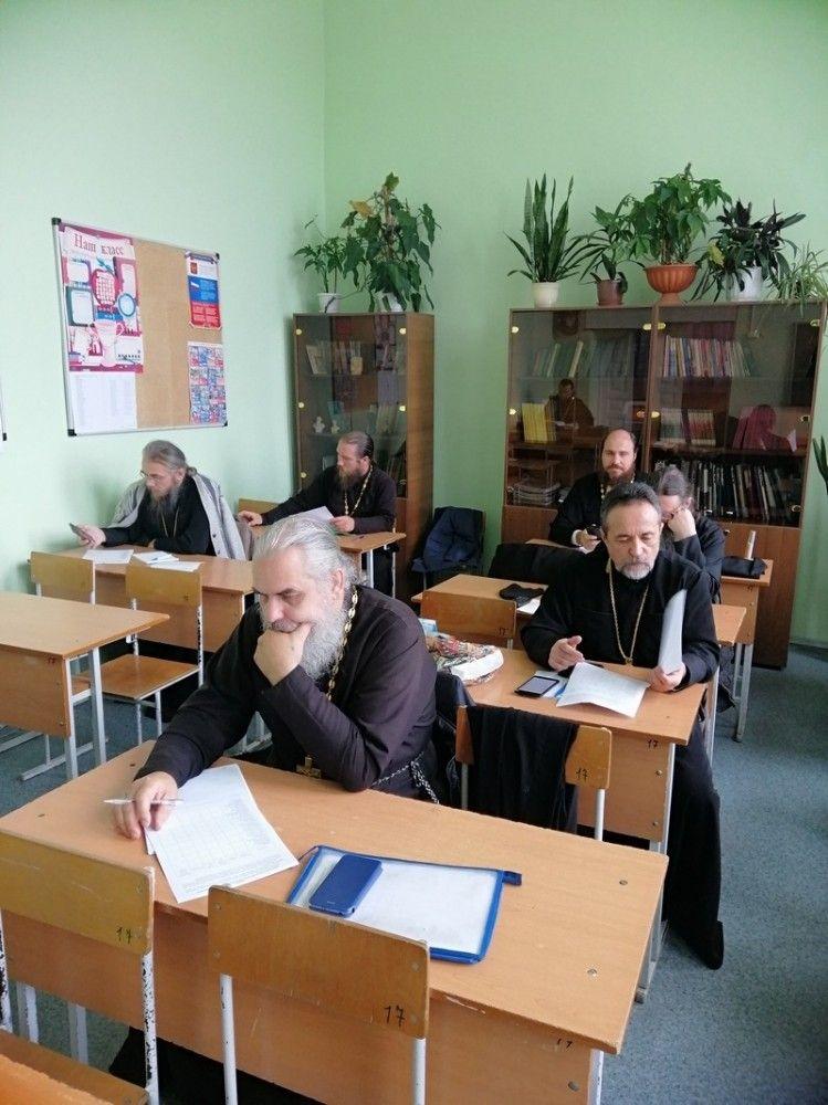 Курсы повышения квалификации клириков Касимовской епархии