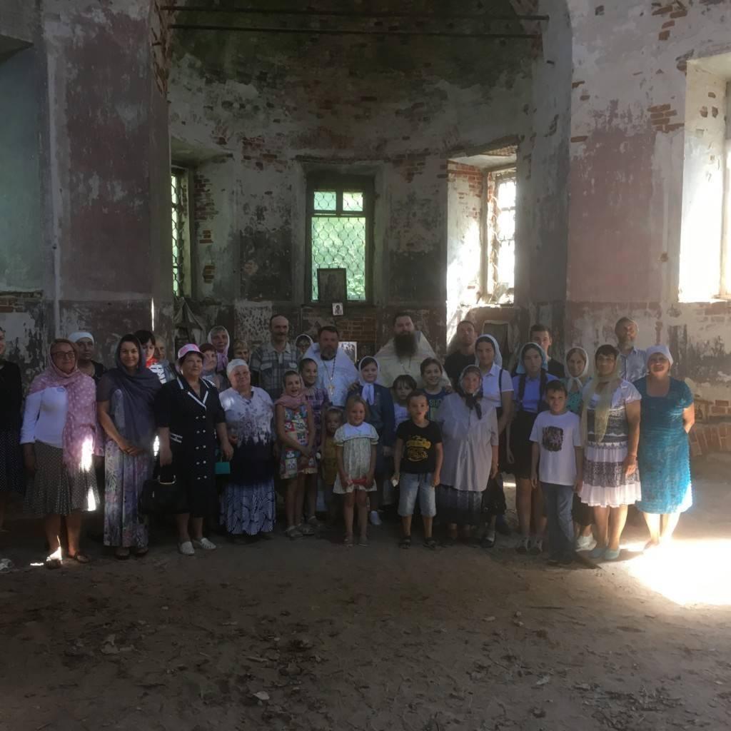 В храмах Чучковского благочиния совершены молебны на начало учебного года