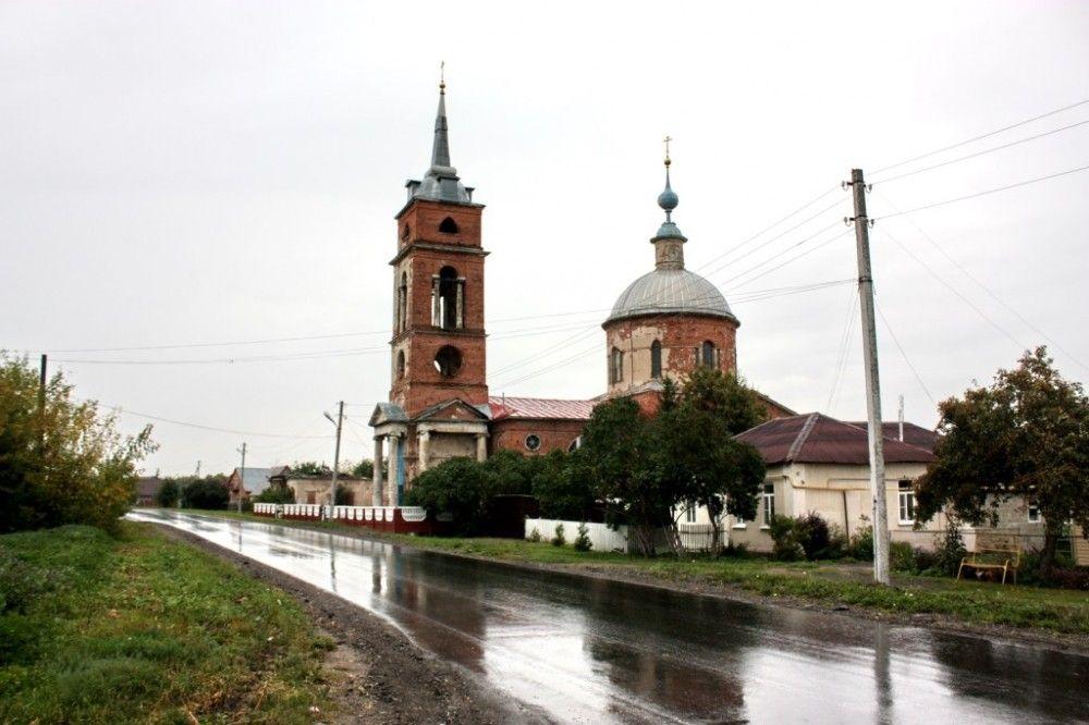 Соборное служение в Христорождественском храме села Желудево