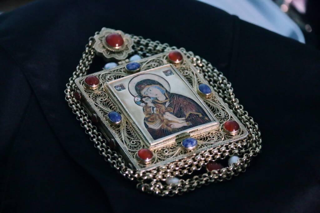 Великое освящение престола в храме Смоленской иконы Божией Матери в селе Высокие Поляны Пителинского района