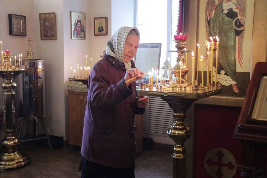 Престольный праздник в Архангельском храме г. Касимова.