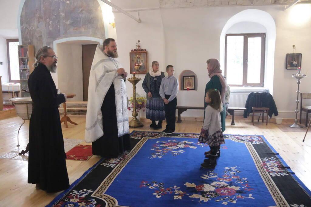 Престольный праздник в храме Рождества Пресвятой Богородицы села Перво
