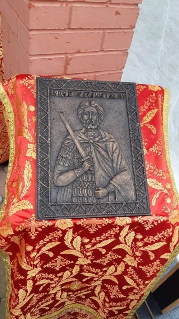 Барельеф нашего земляка Евпатия Коловрата отправлен на ледокол в г. Санкт-Петербург