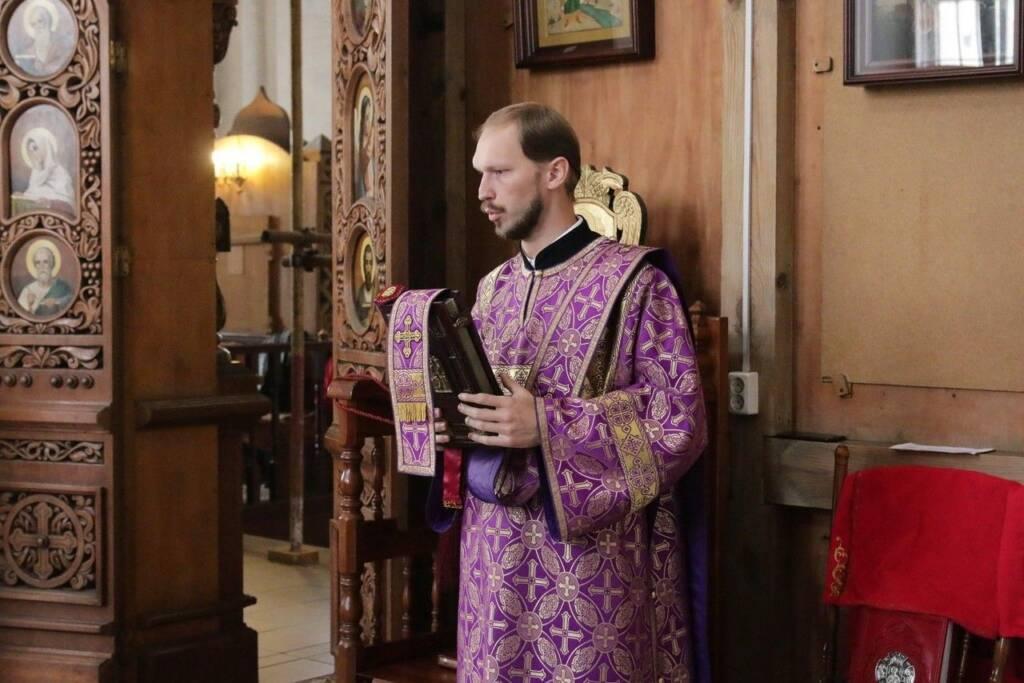 Богослужение в Неделю 15-ю по Пятидесятнице в Вознесенском кафедральном соборе г. Касимова