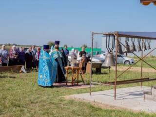 04.09.2019_Освящение колоколов на подворье женского монастыря