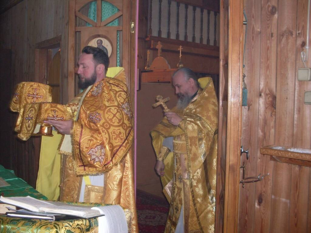 Соборное богослужение клириков Клепиковского благочиния