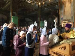 В Троицком храме р.п. Тума совершен молебен на начало нового учебного года