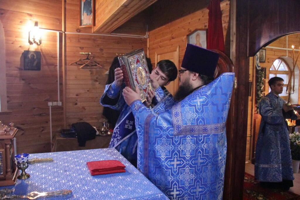Престольный праздник в храме в честь Иверской иконы Божией Матери села Щербатовка Касимовского района