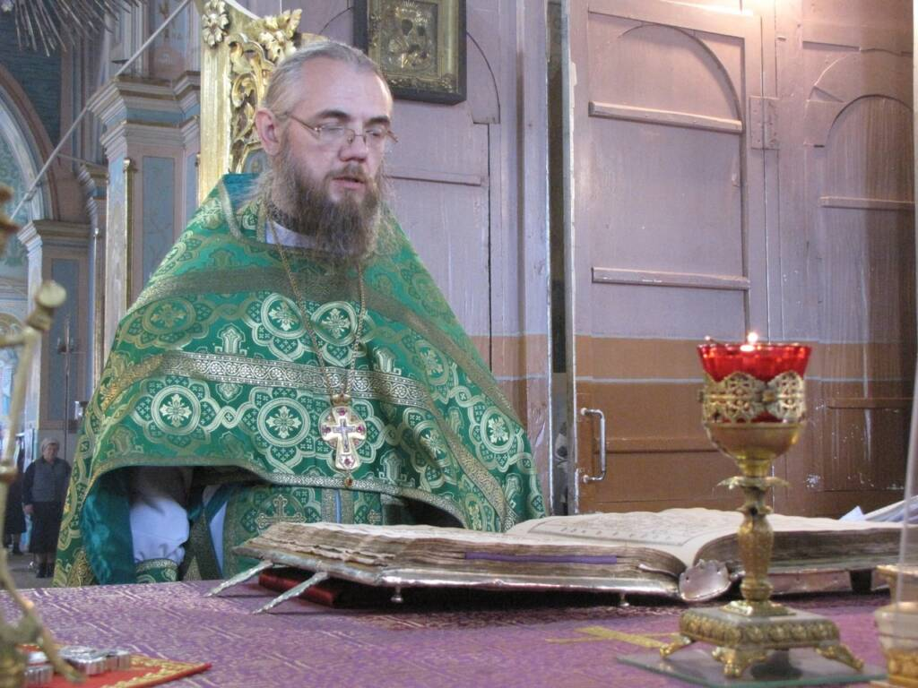Соборное богослужение в день преподобного Сергия Радонежского в р.п. Кадом