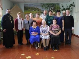 В Доме культуры с. Царево отметили День пожилого человека и день памяти поэта Сергея Есенина