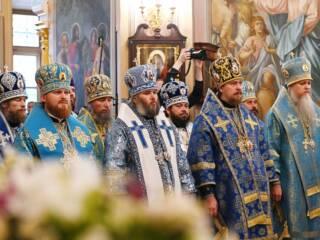 14.10.2019_Литургия в Покровском монастыре со Святейший Патриархом