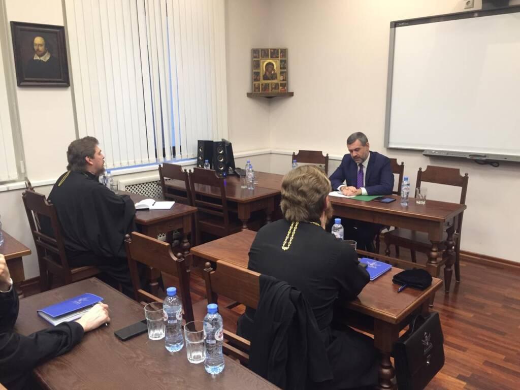 Третий день курсов для новопоставленных архиереев прошел в Сретенской духовной семинарии