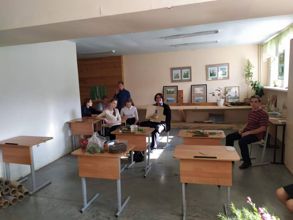 На встрече волонтерского отряда «Крылья» обсудили работу на ближайшее будущее