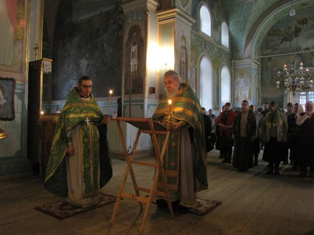 Соборное богослужение духовенства Кадомского благочиния в день памяти прп. Германа Аляскинского.
