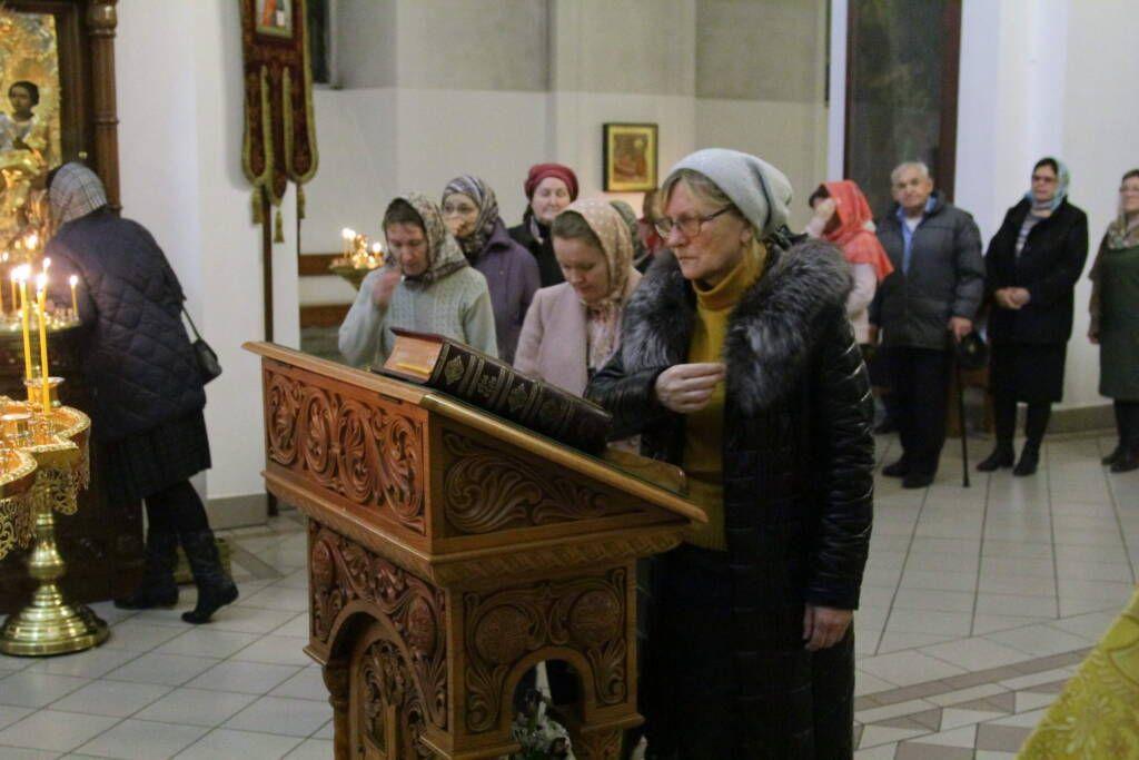 Всенощное бдение в канун  Недели 21-й по Пятидесятнице в Вознесенском кафедральном соборе г. Касимова.