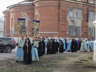 25.11.19_Престольный праздник в Милостиво-Богородицкой обители