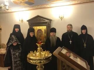 Комисиия синодального отдела по делам монастырей и монашеству посетила Казанский монастырь г.Касимова