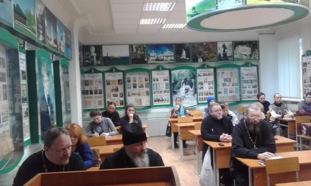 Представители отдела социального служения Касимовской епархии приняли участие в региональном этапе Рождественских чтений, проходившем в городе Рязани.
