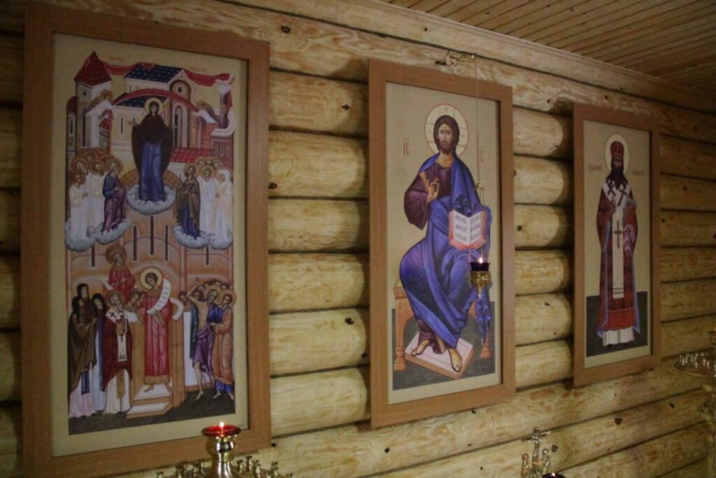 Архипастырь совершил освящение часовни в селе Нарма Ермишинского района.