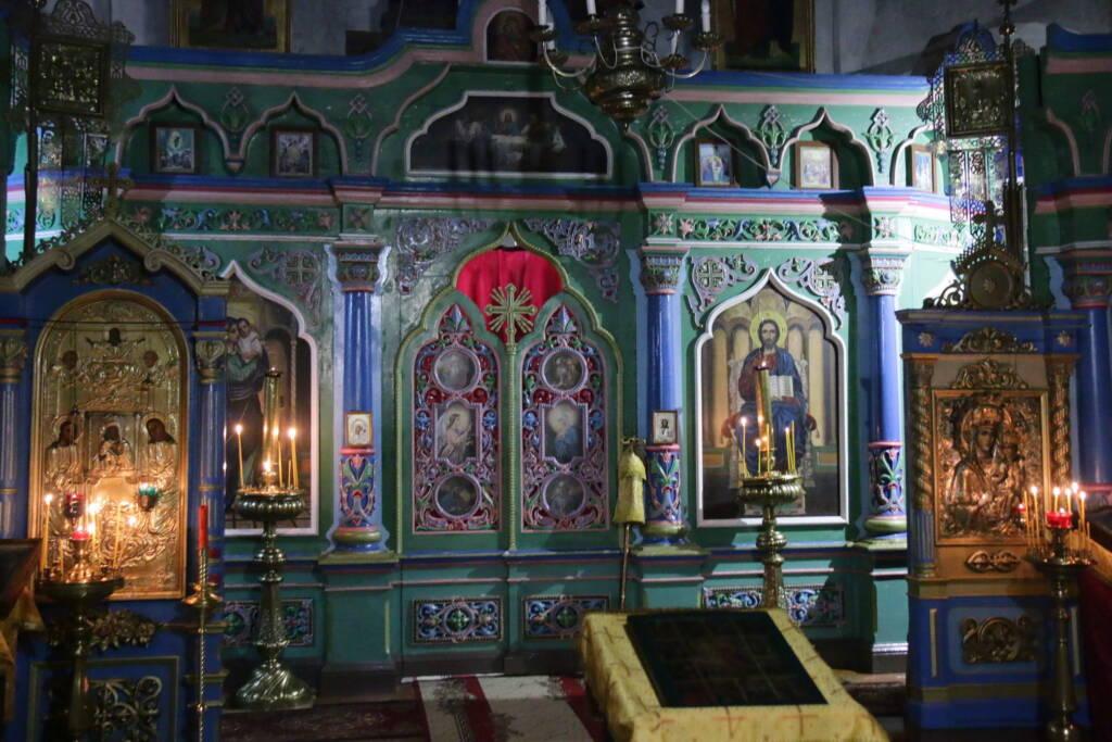 Божественная литургия в Неделю 28-ю по Пятидесятнице, святых праотец в храме Владимирской иконы Божией Матери села Ардабьево Касимовского района