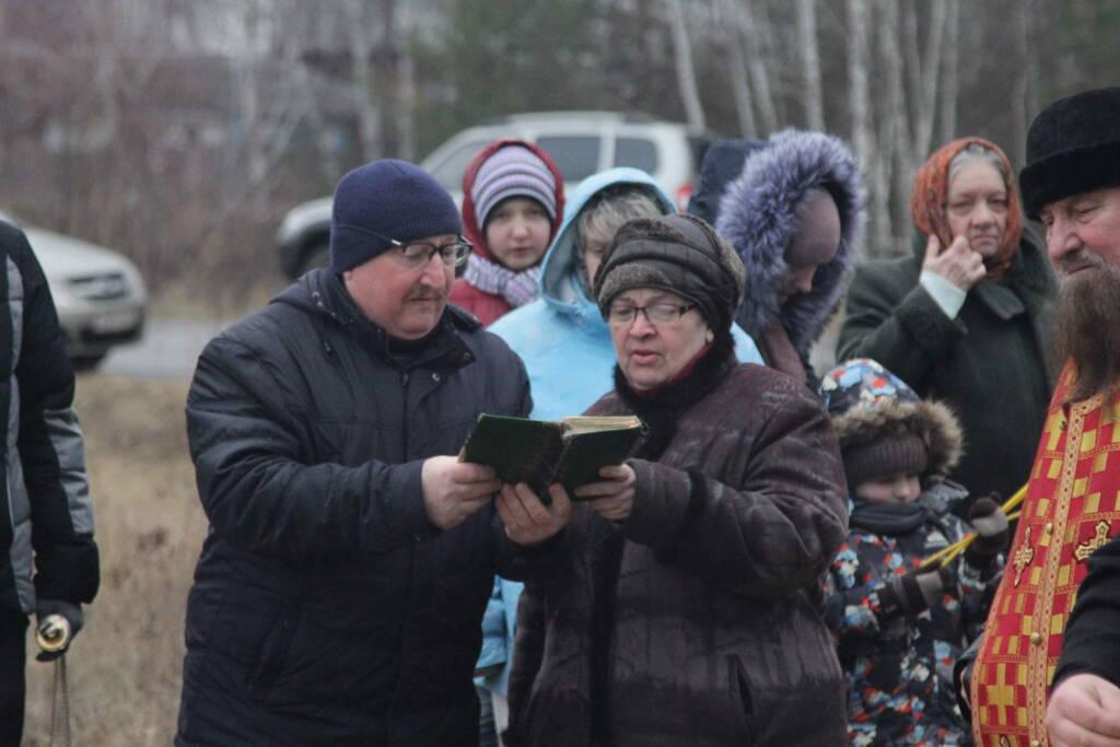 Освящение поклонного креста в Приокском микрорайоне города Касимова