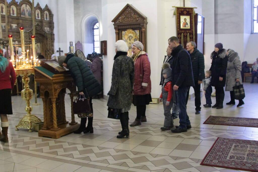 Божественная литургия в Неделю 26-ю по Пятидесятнице в Вознесенском кафедральном соборе г. Касимова.