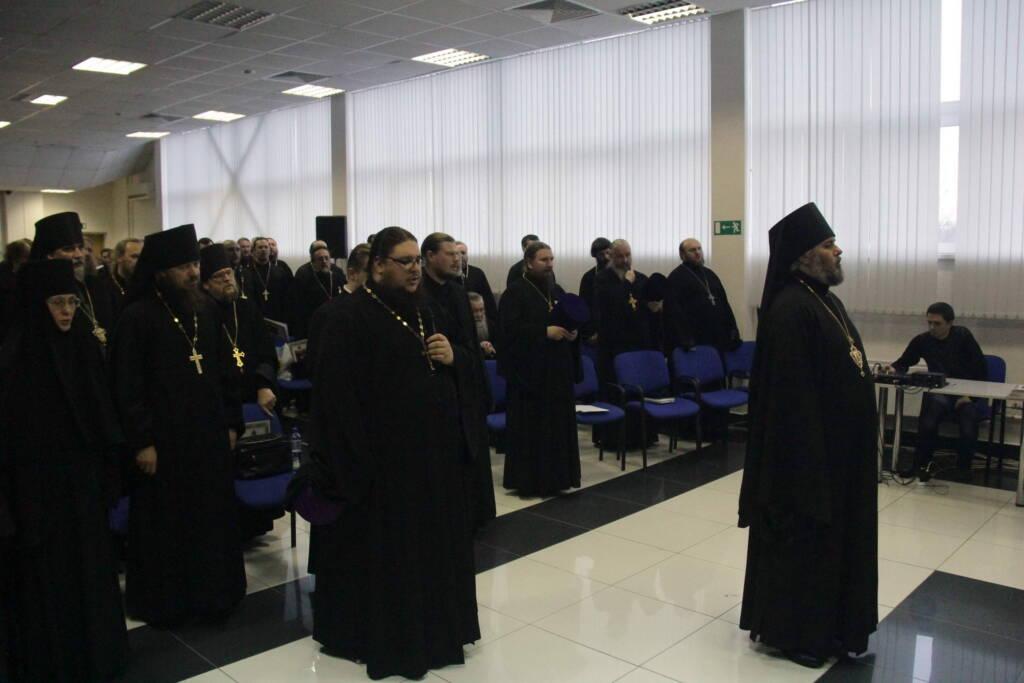 Состоялось ежегодное епархиальное собрание духовенства Касимовской епархии