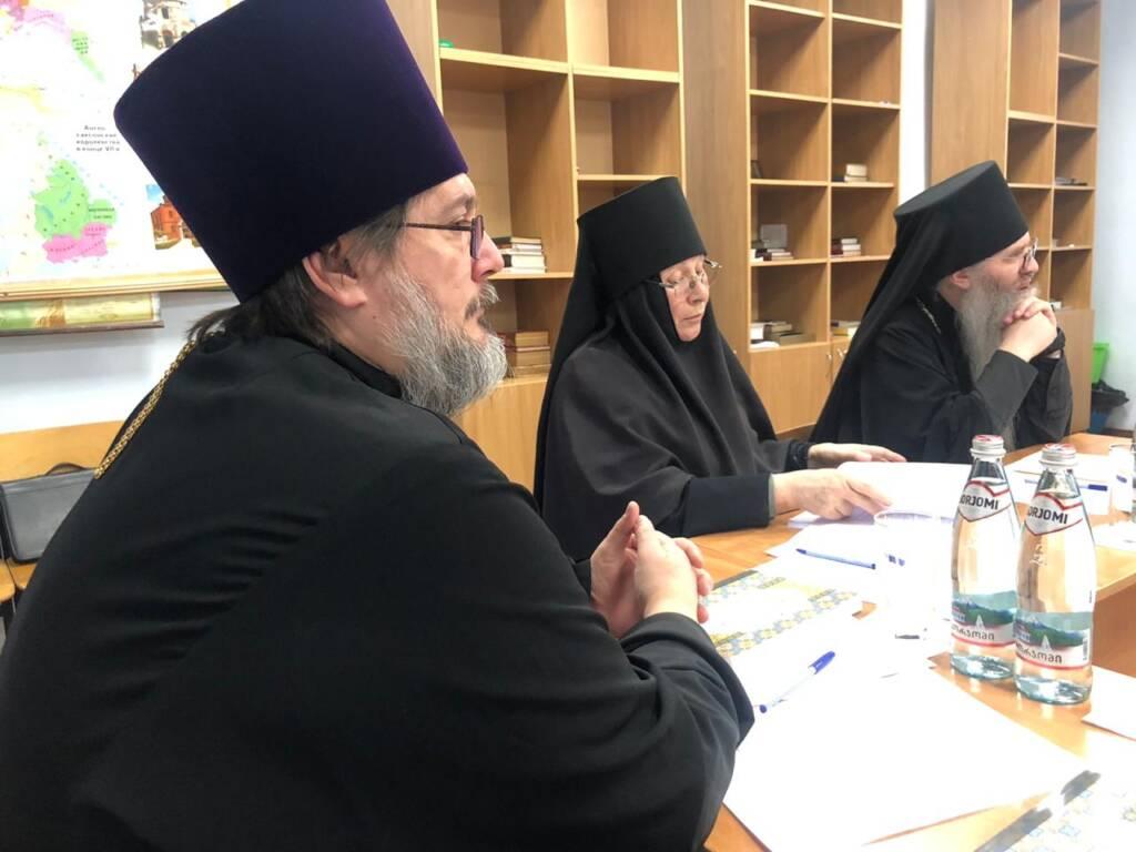 Преосвященный епископ Василий принял участие в заседании Ученого совета Рязанской православной семинарии