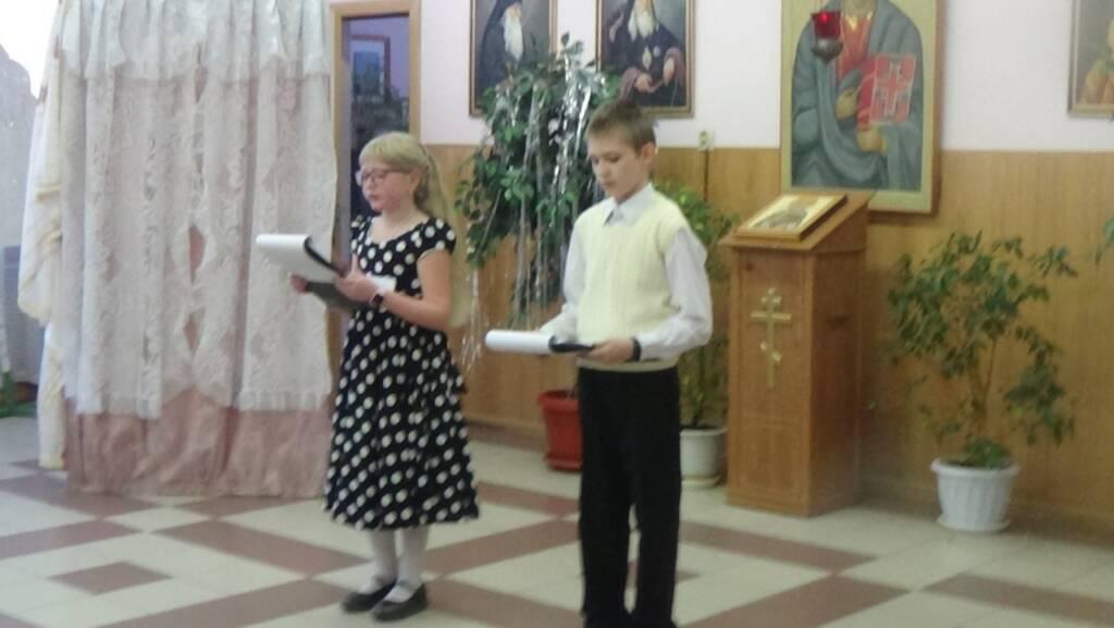 Рождественский концерт в Свято-Сергиевской православной школе города Касимова