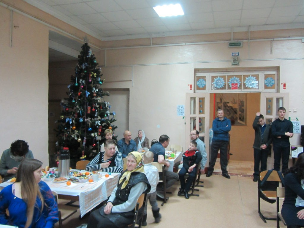 Рождественская ёлка Никольского храма города Касимова