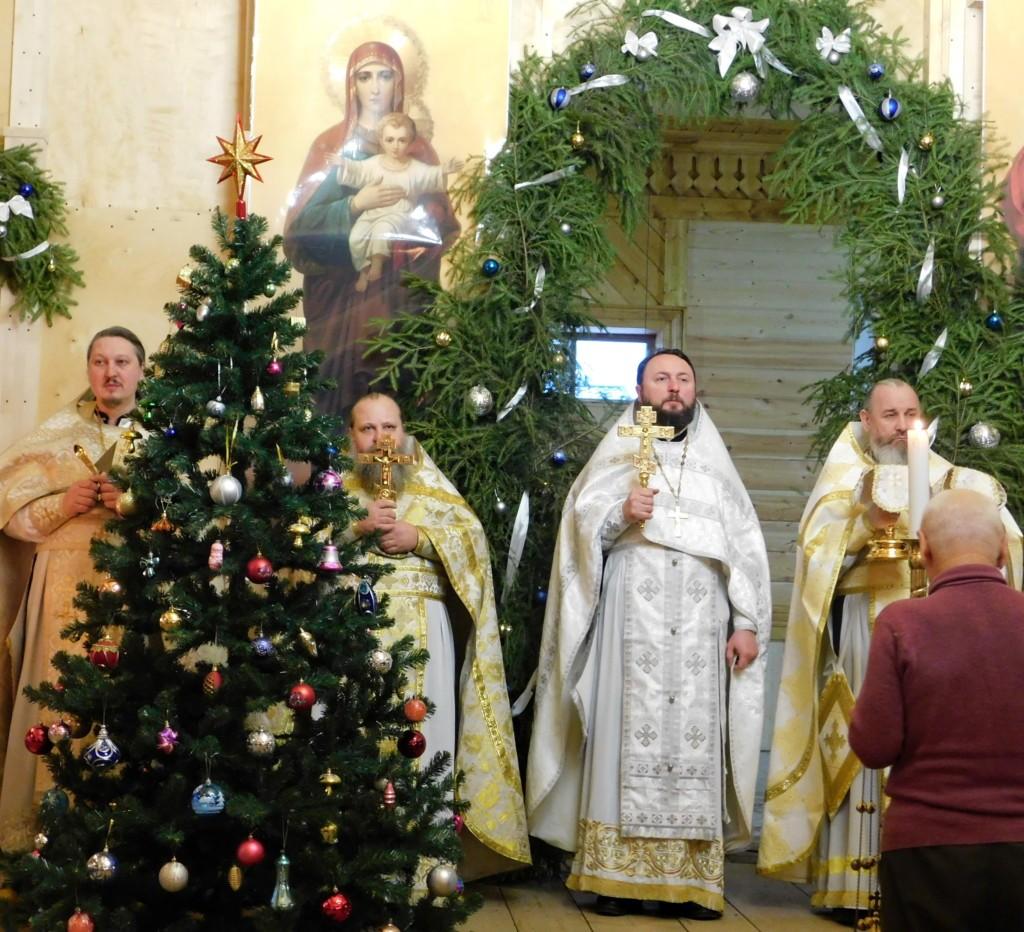 Соборная служба духовенства Клепиковского благочиния