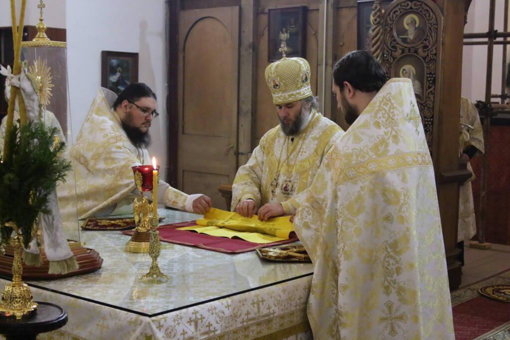 Праздник Рождества Христова в Вознесенском кафедральном соборе города Касимова