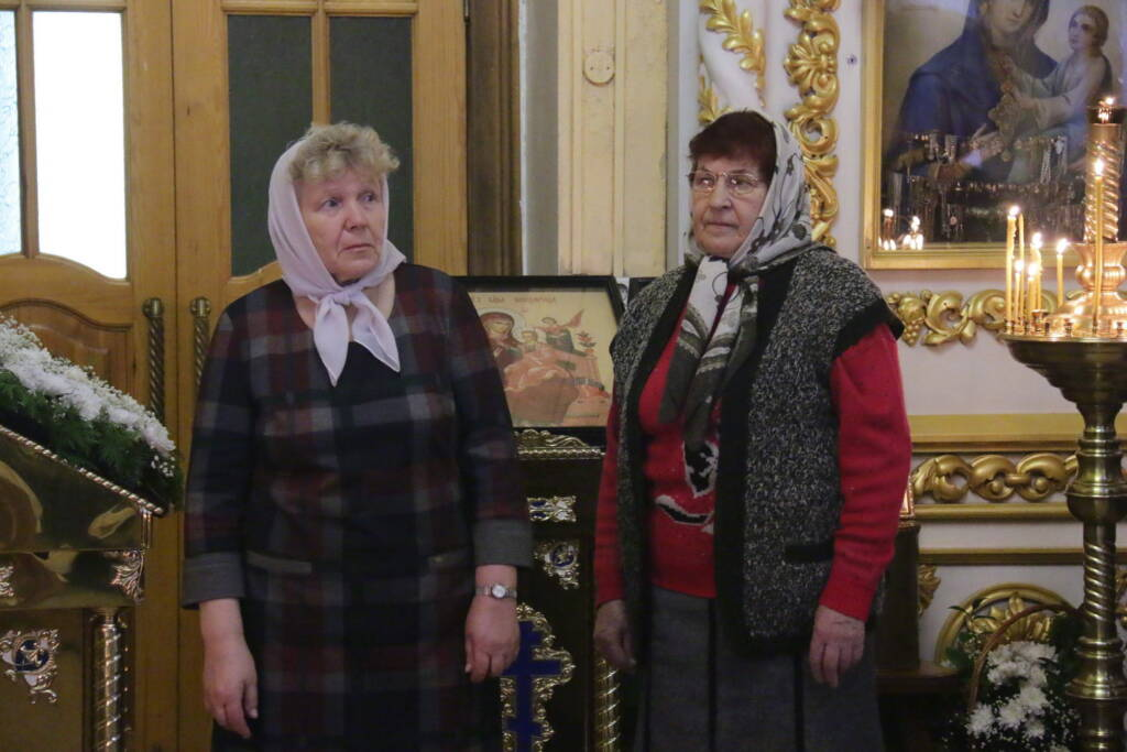 Божественная литургия в день памяти святой мученицы Татианы Римской в Казанском соборе города Сасово