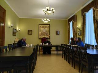 Архипастырь встретился с руководителями учебных заведений г. Касимова