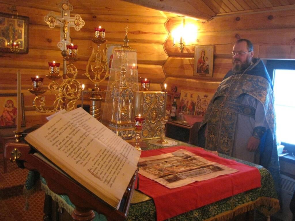 Соборное богослужение духовенства Кадомского благочиния в селе Новосёлки