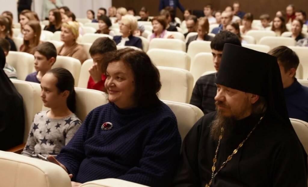 Преосвященный епископ Василий принял участие в презентации фильма о блаженной Любови Рязанской проходившей в г. Рязани