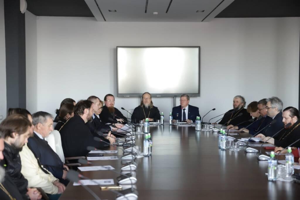 Глава епархии принял участие в заседании Рязанского отделения Всемирного Русского Народного Собора
