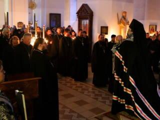 В Прощеное воскресенье епископ Василий совершит Божественную Литургию и вечерню с чином прощения в Вознесенском Кафедральном соборе