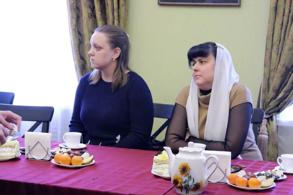 Преосвященный епископ Василий встретился с женами Касимовских священнослужителей