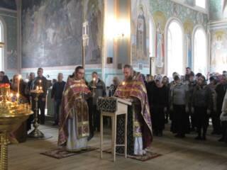 Чин Торжества Православия в Димитриевском соборе р.п. Кадом