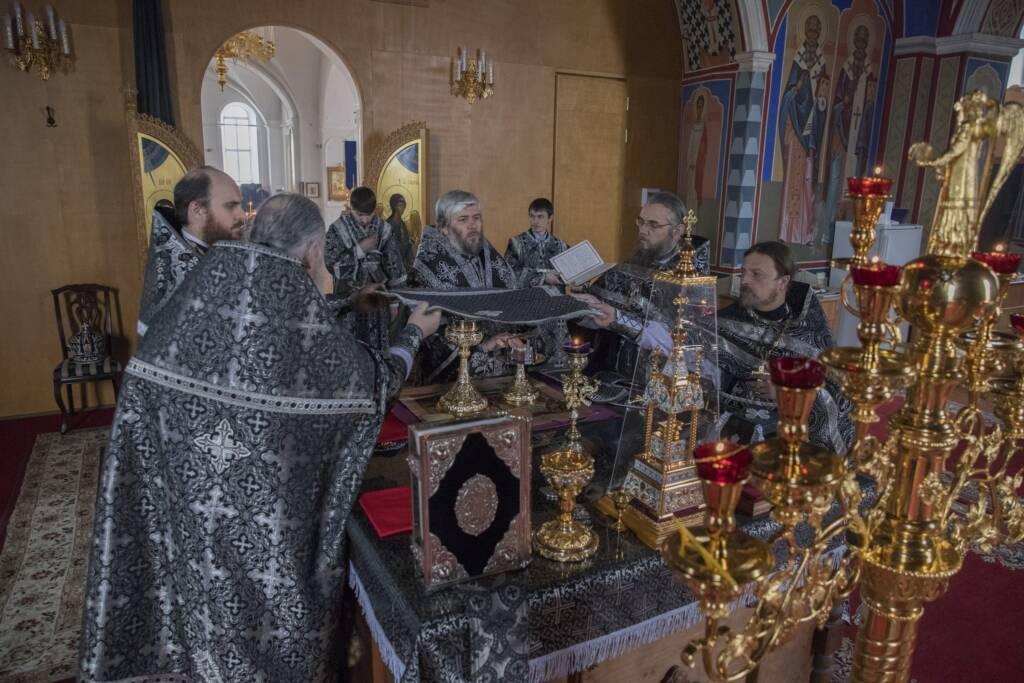 Литургия Преждеосвященных Даров в Милостиво-Богородицком женском монастыре п. Кадом