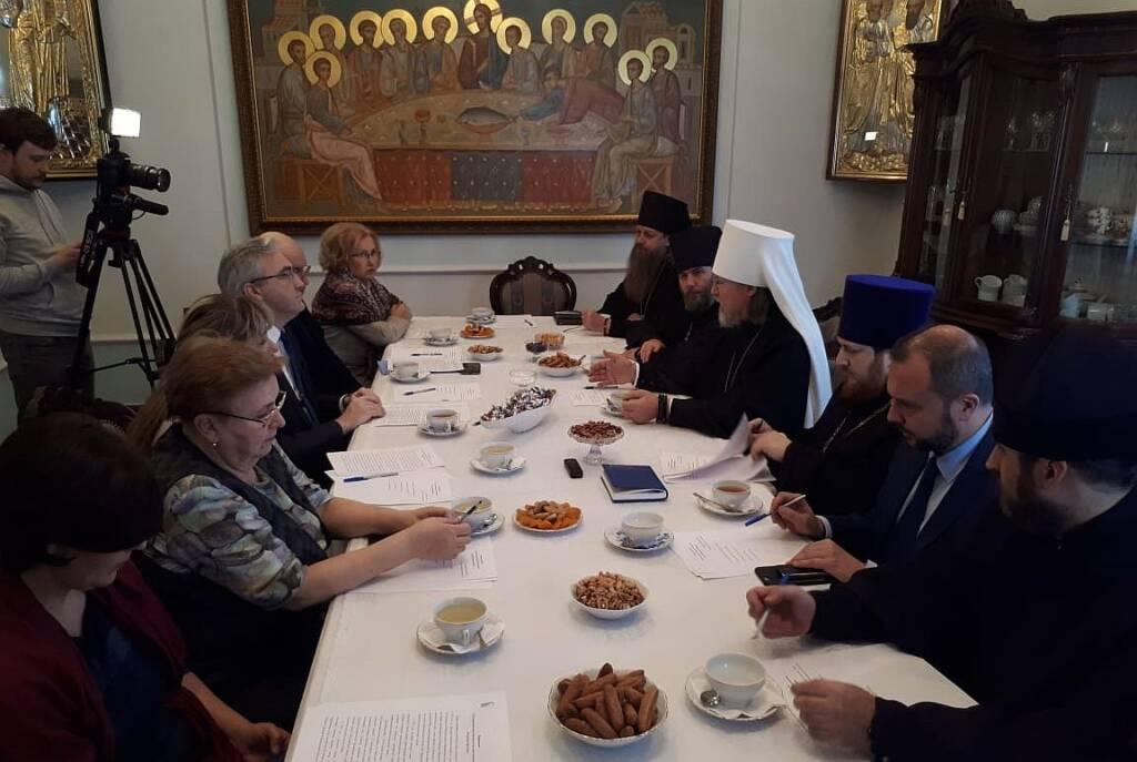 Преосвященный епископ Василий принял участие в заседании Совета по культуре Рязанской митрополии