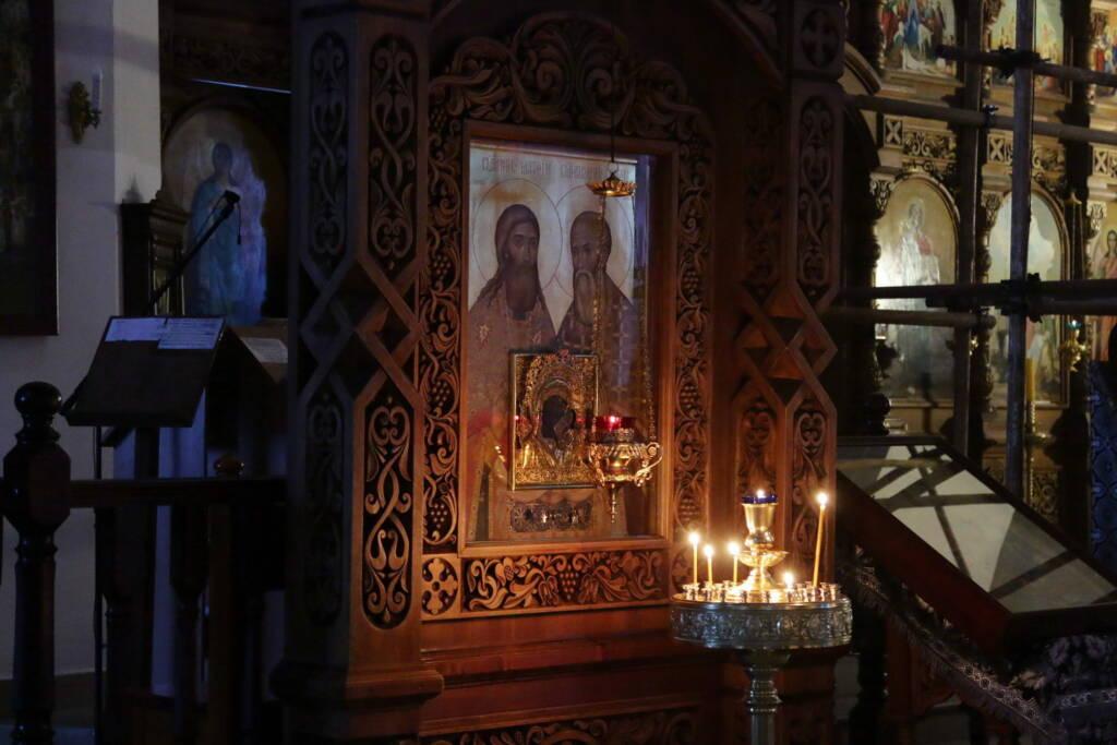Великое повечерие с чтением Великого канона преподобного Андрея Критского в четверг первой седмицы Великого поста