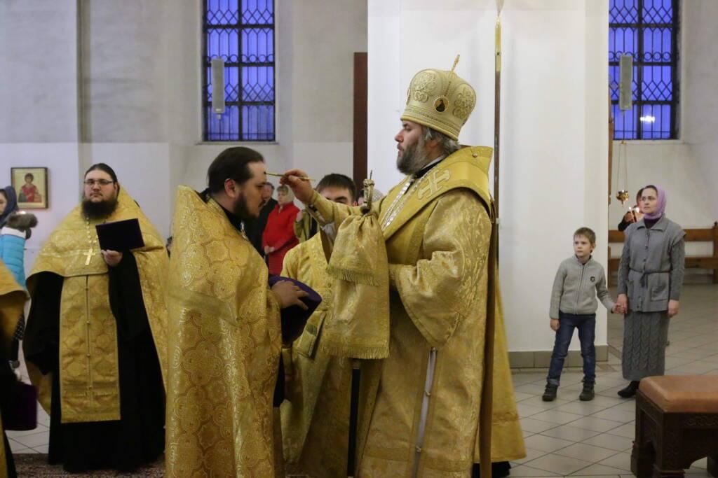 Всенощное бдение в канун Недели 1-й Великого поста Торжества Православия в Вознесенском кафедральном соборе