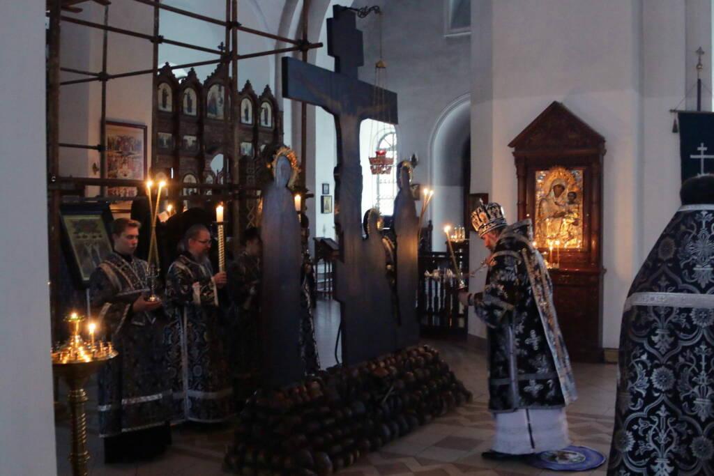 Пассия в Вознесенском кафедральном соборе