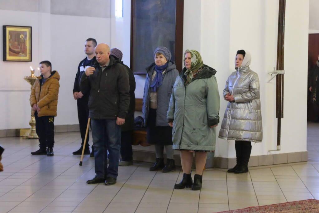 Всенощное бдение в преддверии Крестопоклонной Недели в Вознесенском кафедральном соборе