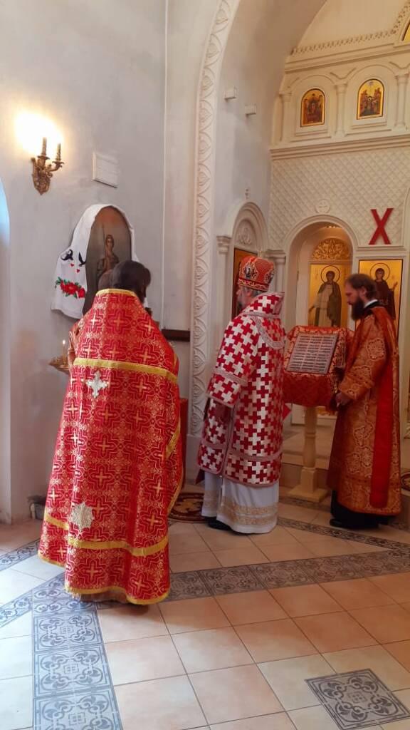 Престольный праздник в Георгиевском храме села Сосновка Касимовского района