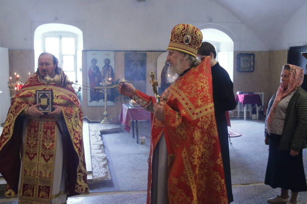Престольный праздник в Георгиевском храме города Касимова